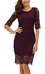 lace christmas party dresses