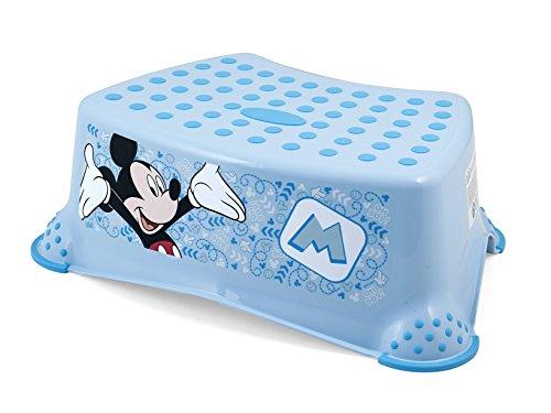 Lulabi Disney Mickey Step, Sgabello, Plastica, 41x29xH14 cm, Azzurro