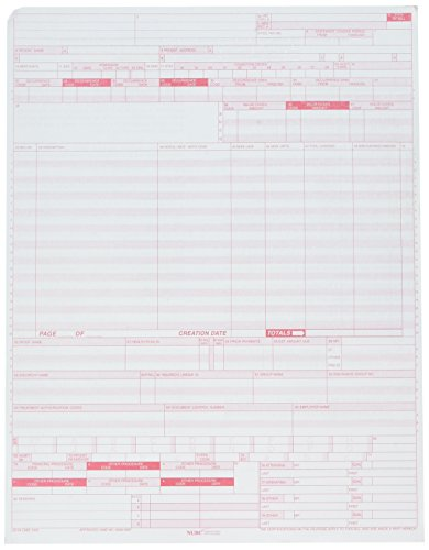 UB-04 (CMS 1450) Health Insurance Claim Form (Pack of 500 sheets)
