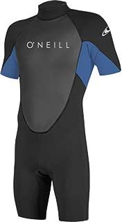O'Neill Men's Reactor-2 2mm Back Zip Short Sleeve Spring Wetsuit