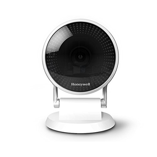 Honeywell Home C2 Wi-Fi Sicherheitskamera mit Bewegungsmelder, Mikrofon und Ton, Geräuscherkennung, 1080P HD, 145 Grad Weitwinkel, Nachtsicht, 240V,weiß, HAWCIC2S