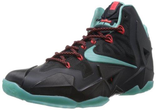 Nike Lebron 11 Men's Basketball Shoe, Black/Blue, US11
