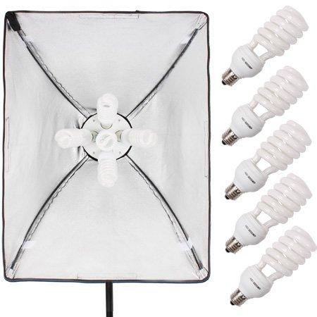 studiofx 2400W gran fotografía de luz continua Kit de iluminación fotográfico 28'X 20' + brazo hairlight con bolsa por kaezi