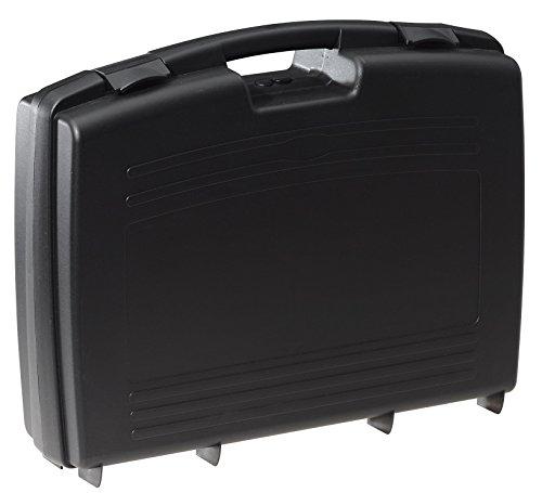 Kunststoffkoffer leer in schwarz, Außenmaß: 524x420x130 mm