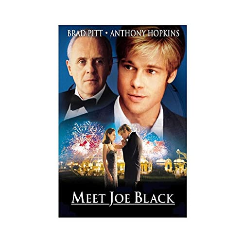 Classic Meet Joe Black Movie Poster 1 Canvas Poster Bedroom Decor Sports Landscape Office Room Decor Gift Hiimy Poster 12×18inch(30×45cm) Unframe: