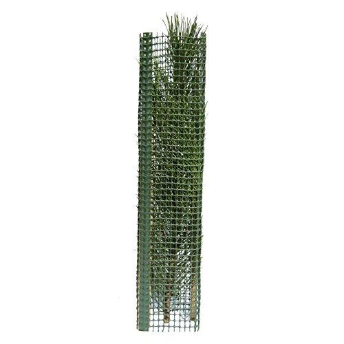 Tubex Treeguard Layflat, Baumschutz-Flach-Gitter, 1.2m, für Ø 20cm, grün, Stammschutz, Fege- und Verbissschutz (10)