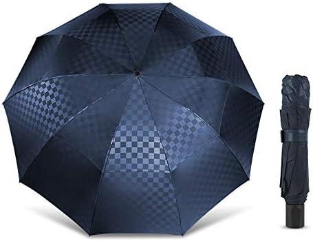 Animer and price revision HMJPN Max 50% OFF Double Layer Big Umbrella Rain Men 3Folding 10K Women Wind