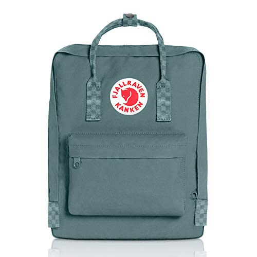 Fjallraven - Kanken Classic Backpack for Everyday, Frost Green/Chess Pattern