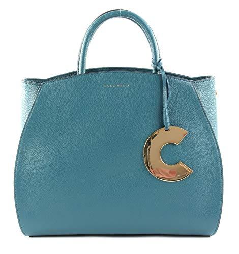 Coccinelle Concrete Handbag Teal