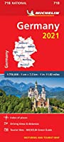 Germany 2021 - Michelin National Map 718: Maps (Michelin National Maps)