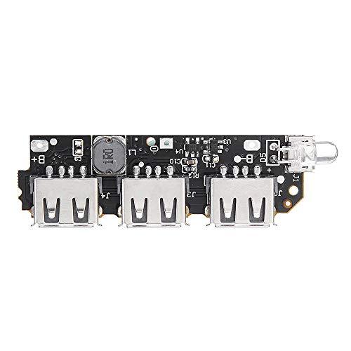 RLJJCS1163 5V 2.1A 3 Módulo de Impulso de la Placa de Circuito de la Placa de energía USB for la batería de Litio de Banco de Power Bank de DIY