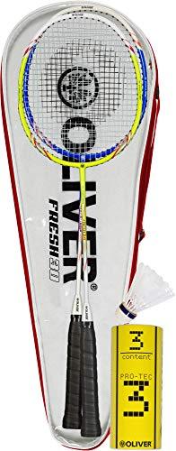 Oliver Fresh 30 Badminton Set rot Einheitsgröße