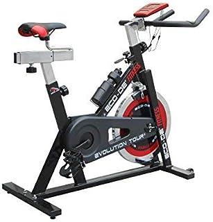 comprar comparacion ECO-DE Bicicleta de Spinning Evolution Tour. Uso semiprofesional con pulsómetro, Pantalla LCD y Resistencia Variable. Esta...