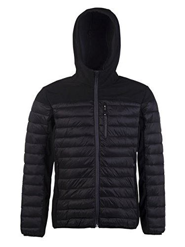 Protest Herren Outdoorjacke 10K wasserdichte und atmungsaktive Update True Black M