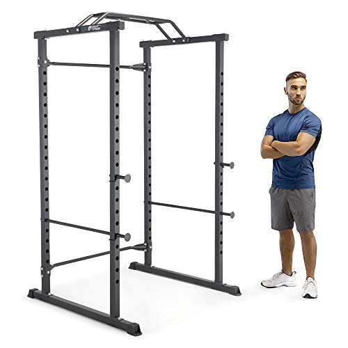 Circuit Fitness Walk-in Power Cage with Multi-Position Grip Bar AMZ-600CG