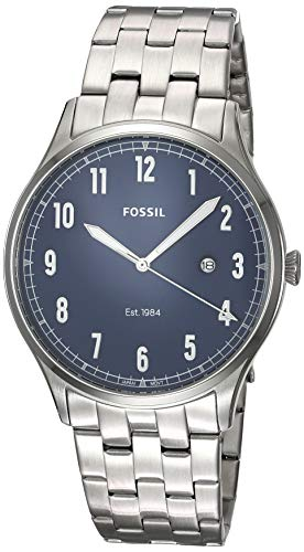 Fossil Men's Forrester Three-Hand Date Stainless Steel Watch FS5593