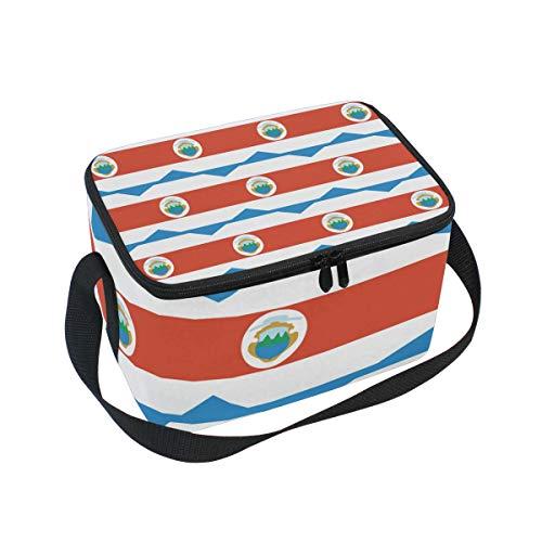 Bolsa térmica con bandera de Costa Rica