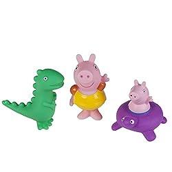 3. Peppa Pig Bath Squirters