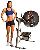 Ab Coaster PS500 - Original, Ultimate Core Workout, 6 Pack Ab Exercise Machine for Home Use, Less Stress on Neck, Back, and Shoulders, Abdominal/Core Fitness Equipment for All Training Levels