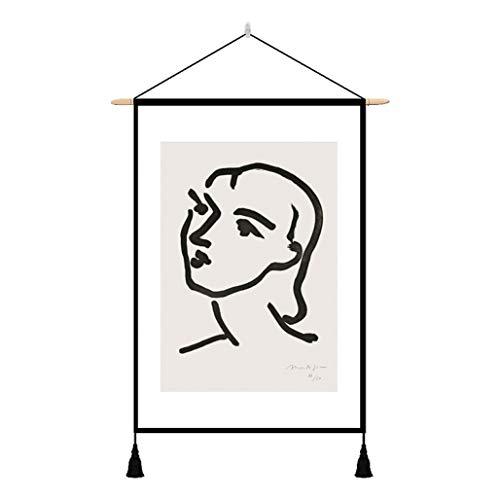 タペストリー 掛け物 壁掛け 北欧風 おしゃれ 個性派 プレゼント 新築祝い 結婚祝い 玄関 寝室 ベッドルーム 壁飾り インテリア 部屋飾り 壁吊り 絵画 布ポスター 43×65cm