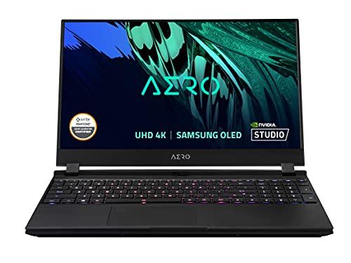 GIGABYTE AERO 15 OLED KD – 15.6″ UHD 4k AMOLED IPS Creator Laptop