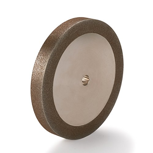 "WoodRiver 120-Grit CBN Grinding Wheel, 6""x 3/4"" for Grinders with a 1/2"" Arbor"