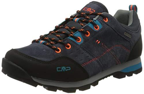CMP – F.lli Campagnolo Alcor Low Trekking Shoes WP, Stivali da Escursionismo Uomo, Grigio Antracite U423, 40 EU