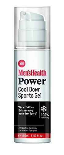 Men´s Health Power Cool Down Sports Gel - vegan & parabenfrei, 1er Pack (1 x 150 ml)