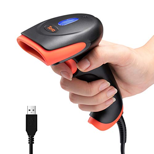 Tera CCD Barcode Scanner Wired U...
