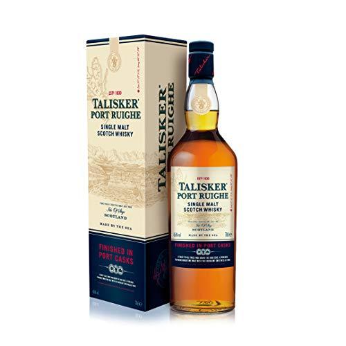 Talisker Port Ruighe Islay Single Malt Scotch Whisky – in Geschenkbox (1 x 0.7 l)