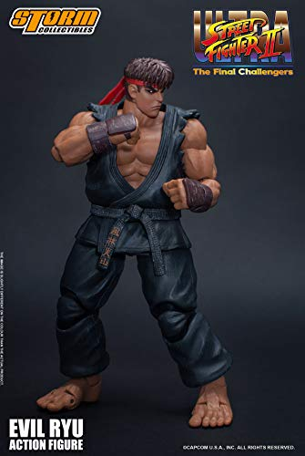 Storm Collectibles Street Fighter II Evil Ryu The Final Challengers Action-Figur