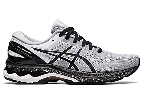 ASICS Women's Gel-Kayano 27 Running Shoes, 11M, Piedmont Grey/Black