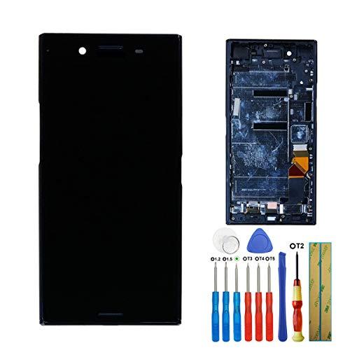 Melphyreal Écran LCD tactile pour Sony Xperia XZP XZ Premium G8141 G8142 Noir + Cadre