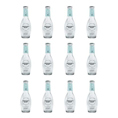 Merchant's Heart Light Tonic Water Glasflasche, 200 ml, 12 Stück