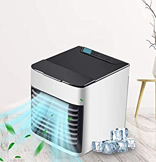 Portable Air Cooler, USB Mini Air Conditioner Fan Artic Air Personal Air Cooler Humidifier Adjustable 3 Fan Speeds Colorfu...