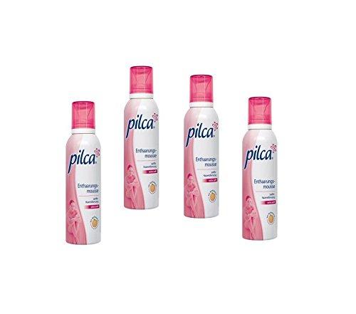 Pilca Enthaarungsmousse einfachere, wirksamere und schnellere Enthaarung 150 ml (4)