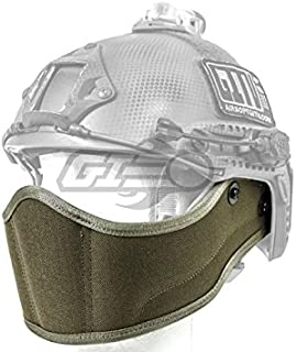 Lancer Tactical Helmet Face Armour (Foliage Green)