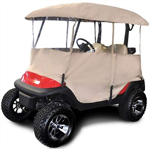 """RED DOT Universal Enclosure for CARTS with 54"""" TOP Tan"""