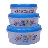 Kuber Industries food saver box is made of high quality food grade plastic that's why it is very durable and has a sturdy body. These containers are perfect for daily use in kitchen to store grains, spices, condiments and herbs. This is used to keep ...