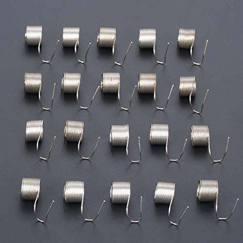 ZHaonan-Resorte comprimido extendido, 20pcs de coser industrial Tensión del hilo Compruebe Springs, Herramientas for coser industriales Máquinas de un aguja de coser accesorios ,Partes de maquinaria