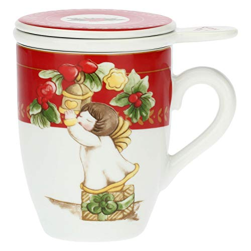 THUN ® - Tisaniera in Porcellana Dolce Natale