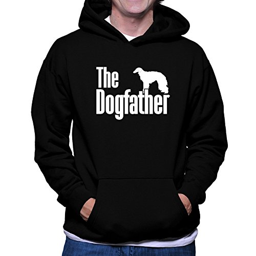 Teeburon The Dogfather Silken Windhound Sudadera con Capucha