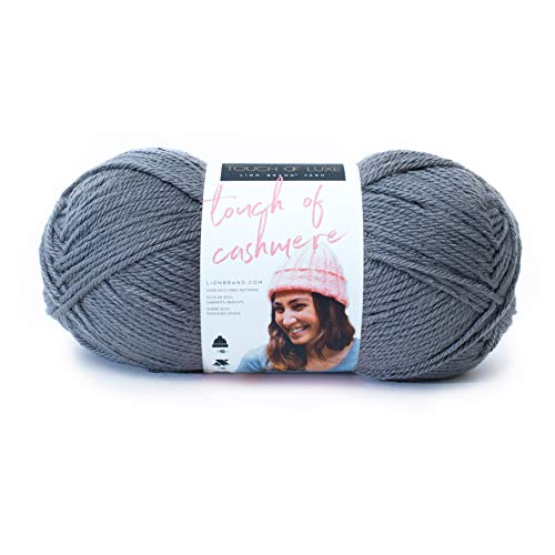 LION BRAND YARN COMPANY YARN TOUCH OF CASHME IRON