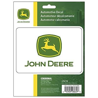 John Deere lower Hood Abziehbild Decal Set For X320 Tractors M152343