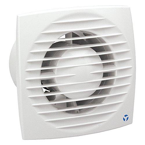 Flujo de aire Aura-eco extractor de 100T 100mm temporizador ventilador