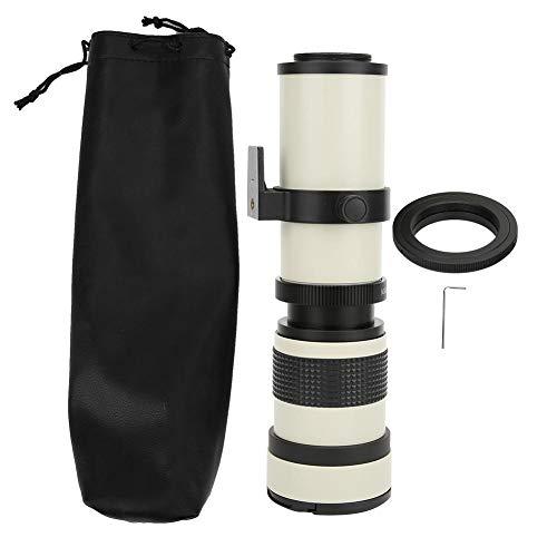 プロフェッショナル望遠レンズ 420-800MM F / 8.3-16超望遠ズーム 手動調整 固定焦点 風景撮影 鳥を観察適用 オリンパスOMマウントカメラ適用