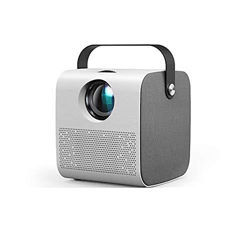 WXF Projektor-Mini, 1280 * 720P 2800 Lumen, LED-Projektor Für Full HD 1080P, 3D-Videoprojektor Heimkino.