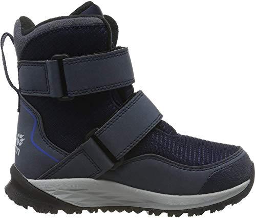 Jack Wolfskin Unisex-Kinder Polar Bear Texapore High Vc K Schneestiefel , Blau (Dark Blue/ Light Grey 1168) , 31 EU