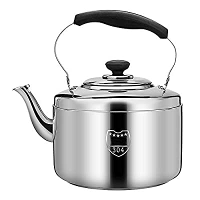 Teapot|tea Pots For Stove Top|tea Kettle|whistling Tea Kettle| 304 Stainless Steel | Large-capacity Multi-size | Suitable For All Types Of Stoves (Size : 10L)
