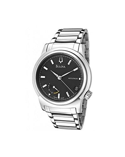 Reloj de pulsera para hombre Bulova 63F84, correa de acero Accutron Classic Automatic
